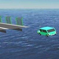 Broken Bridge Car Game 3D