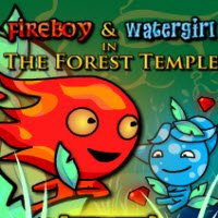 Fireboy and Watergirl In The Forest Temple