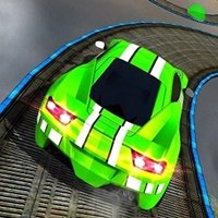 Impossible 3D Stunt Car Racing Game