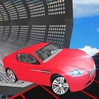 Mega Car Ramp Impossible Stunt