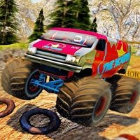 Monster Truck Dessert Racing Game 3D