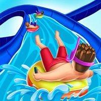 Slippery Water Slides Aquapark