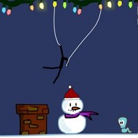 Spider Stickman 5: Christmas