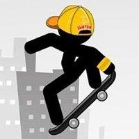 Stickman Skate: 360 Epic City