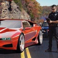 Supercar Police Parking 2